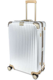 RIMOWA Topas titanium four wheel suitcase