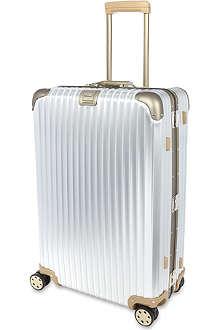 RIMOWA Topas titanium multi-wheel suitcase 82cm