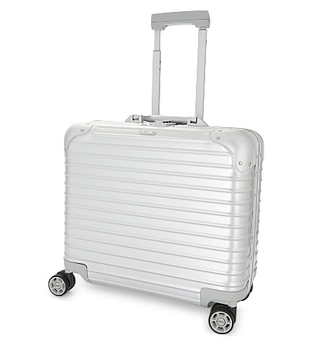 RIMOWA Topas business four-wheel aluminium suitcase (Silver