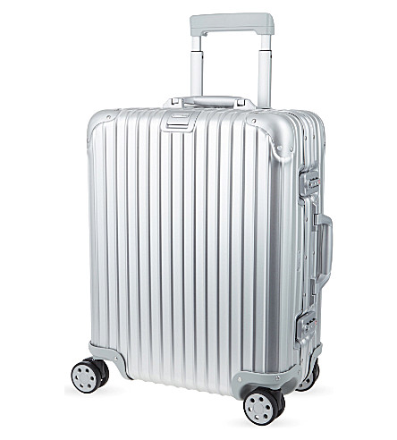 RIMOWA Topas four-wheel suitcase 56cm (Silver