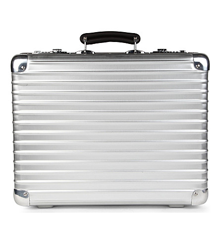 RIMOWA Attache classic flight briefcase 41cm (Silver