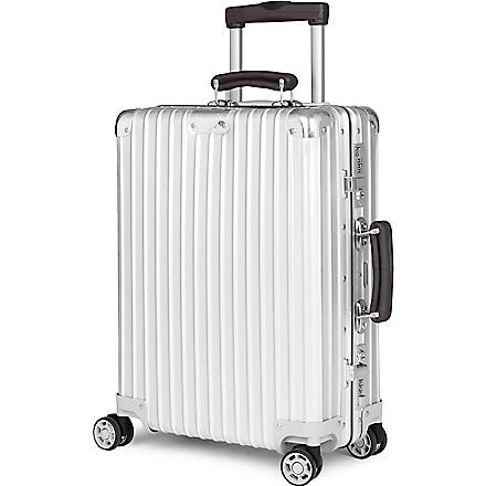 RIMOWA Classic Flight four-wheeled cabin suitcase (Silver