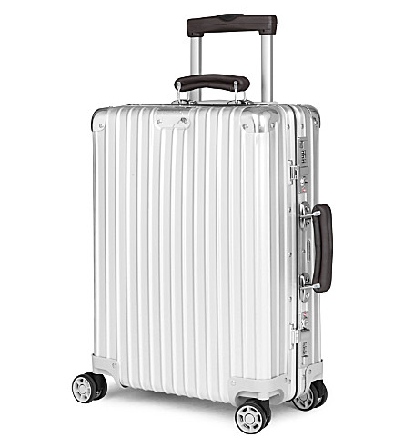 RIMOWA Classic Flight four-wheel cabin suitcase 55cm (Silver