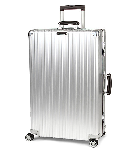 RIMOWA Classic four-wheel flight suitcase 78cm (Silver