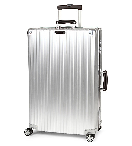 RIMOWA Classic Flight four-wheel suitcase 84.5cm (Silver