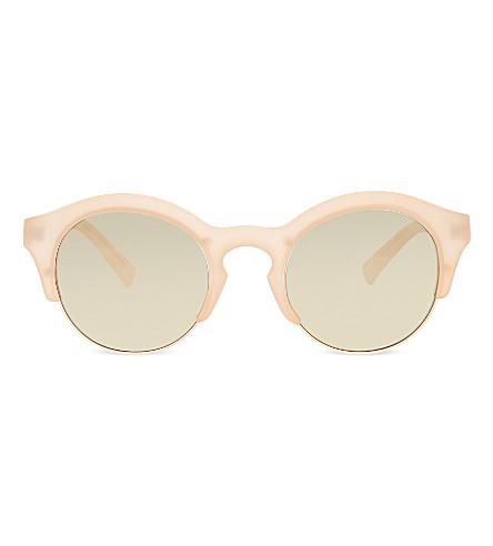 SELF-PORTRAIT Le Specs Edition Five sunglasses (Matte blush gold
