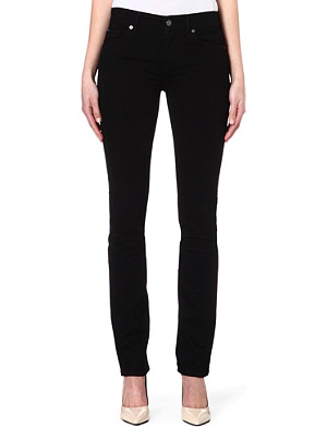 7 FOR ALL MANKIND Portland straight mid-rise jeans