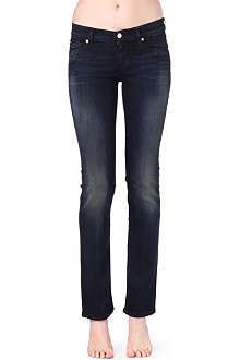 7 FOR ALL MANKIND B Pacific straight mid-rise jeans