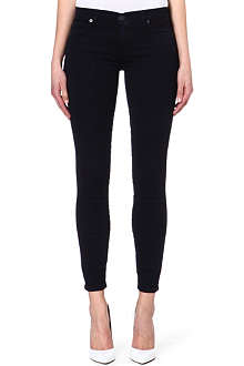 7 FOR ALL MANKIND The Skinny Gummy low-rise jeans