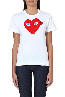 PLAY Heart-logo t-shirt