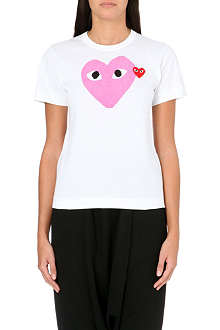 PLAY Heart logo t-shirt