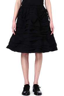 COMME DES GARCONS Layered volume skirt