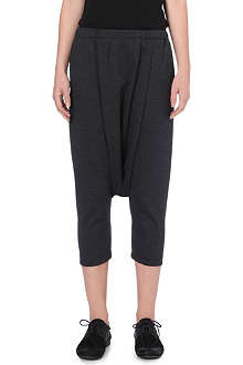COMME DES GARCONS Dropped crotch wool trousers