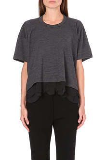 COMME DES GARCONS Scalloped trim top