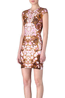 MCQ ALEXANDER MCQUEEN Rose petal dress