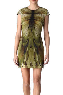 MCQ ALEXANDER MCQUEEN Dragonfly silk dress