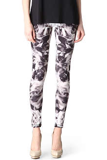 MCQ ALEXANDER MCQUEEN Mirrored Iris leggings