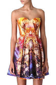 MCQ ALEXANDER MCQUEEN Printed dress
