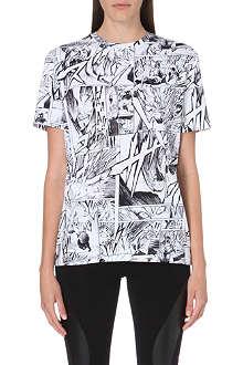 MCQ ALEXANDER MCQUEEN Comic-print t-shirt
