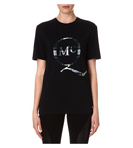 MCQ ALEXANDER MCQUEEN Boyfriend logo-print t-shirt (Black