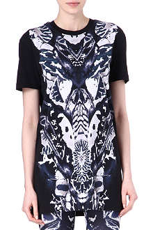 MCQ ALEXANDER MCQUEEN Printed t-shirt dress