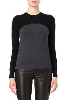 MCQ ALEXANDER MCQUEEN Two-toned jumper