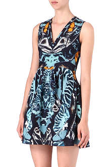 MCQ ALEXANDER MCQUEEN Printed party dress