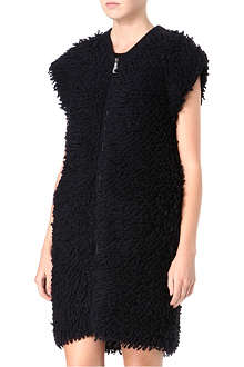MCQ ALEXANDER MCQUEEN Looped-knit gilet
