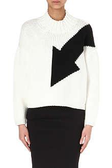 MCQ ALEXANDER MCQUEEN Arrow knitted jumper