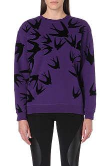 MCQ ALEXANDER MCQUEEN Swallow-print sweatshirt