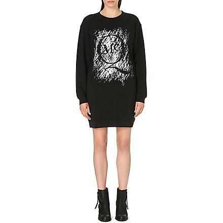 MCQ ALEXANDER MCQUEEN Classic jersey dress (Black