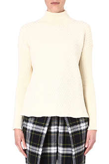 MCQ ALEXANDER MCQUEEN Turtleneck wool jumper