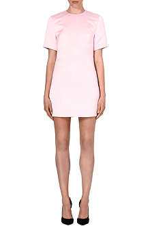 MCQ ALEXANDER MCQUEEN Short-sleeved satin dress