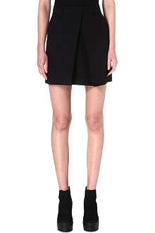 MCQ ALEXANDER MCQUEEN Pleated-front skirt