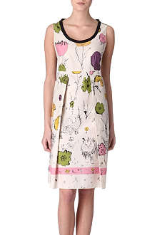 MARNI EDITION Floral dress