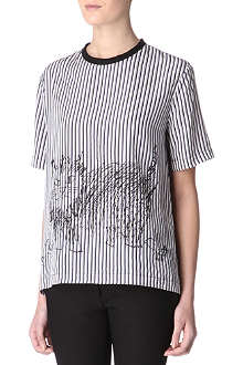 MARNI EDITION Caman striped top