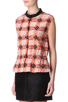 MARNI EDITION Duck-print top