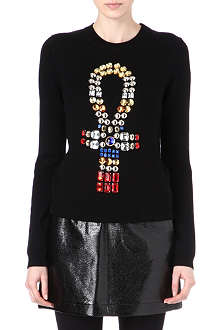 OPENING CEREMONY Ankh embellished jumper
