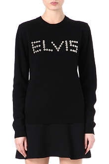 OPENING CEREMONY Elvis studded jumper