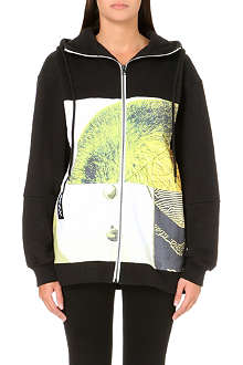OPENING CEREMONY Remix printed zip-up hoody