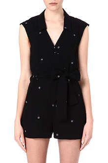 OPENING CEREMONY Daisy-print playsuit