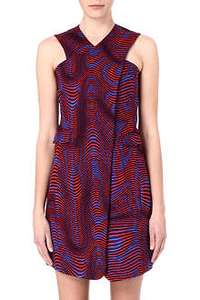OPENING CEREMONY Printed cross-over dress