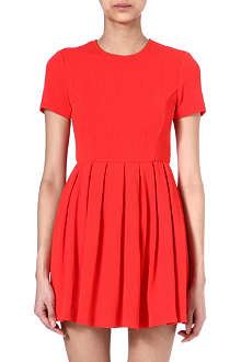 OPENING CEREMONY Pleated fit and flare dress