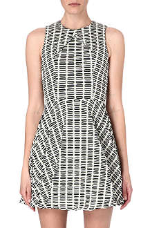 OPENING CEREMONY Graphic pattern stretch-jersey dress