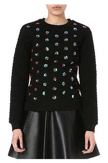 OPENING CEREMONY Embellished sweatshirt