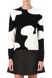 OPENING CEREMONY Cow wool-blend jumper
