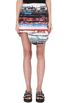 OPENING CEREMONY Terazzo abstract-print skirt