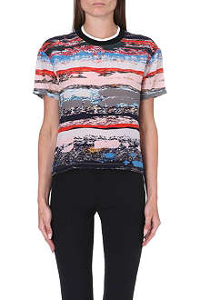 OPENING CEREMONY Terazzo silk t-shirt