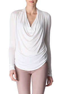 HELMUT LANG Cowl-neck top