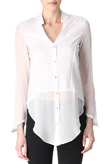 HELMUT LANG Silk and cotton shirt